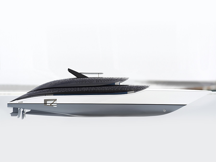 feadship-breathe-sustainable yacht-concept-side