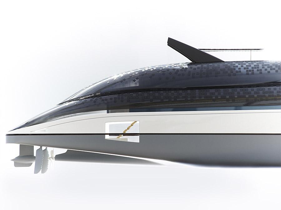 feadship-breathe-sustainable yacht-concept-rear