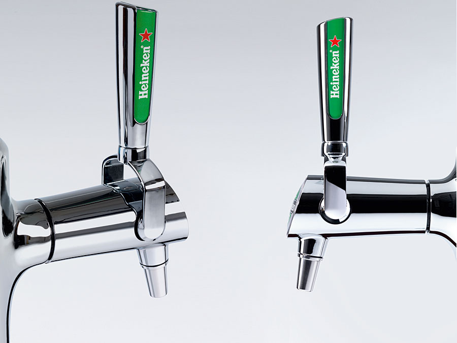 heineken coolflow technology bier tap