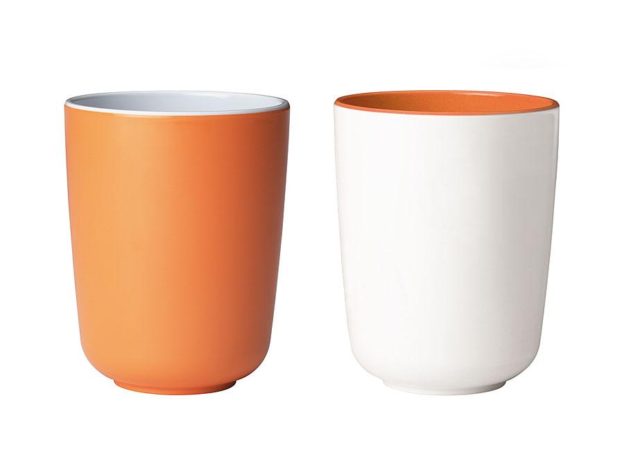 widget-melamine-servies-bekers-oranje-wit