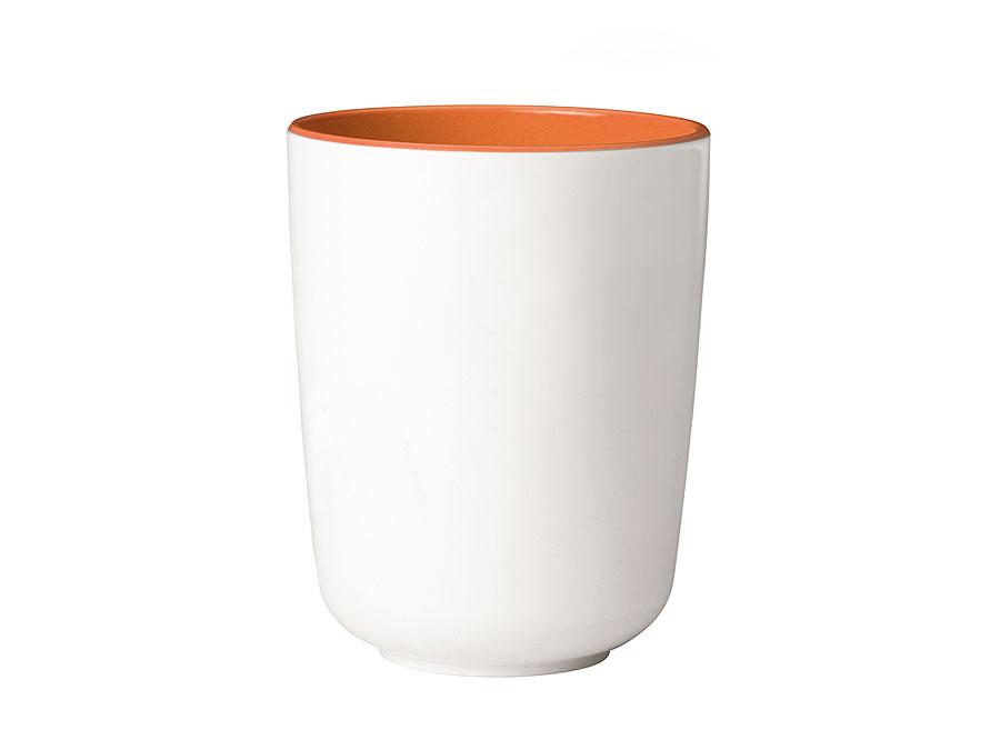 widget-melamine-servies-beker-oranje-wit