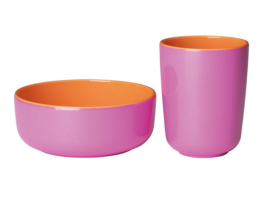 widget-melamine-servies-kom-beker-oranje-lila